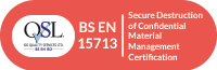 BS EN 15713 certified