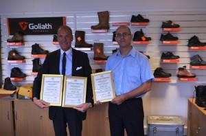 Goliath Footwear Ltd - Presentation Photo