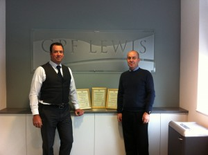GPF Lewis (Contracts) Ltd - Presentation Photo