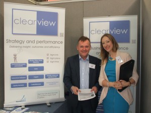 Mark Hobart, Clearview, & Jennifer Appleton, ISO Quality Services