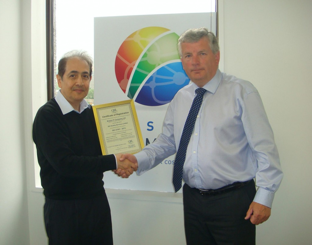 Bristol IT Company Ltd - Presentation Photo 04.06.14