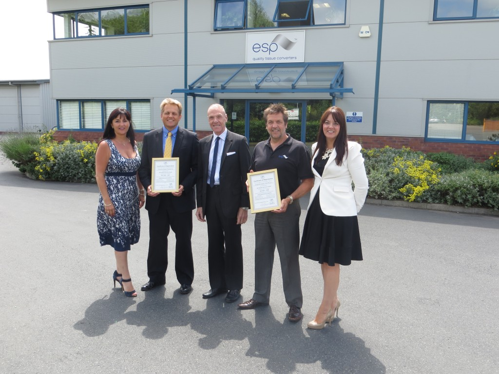 Essential Supply Products Ltd - Presentation Photo 24.06.14