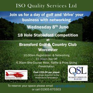 Golf Day - Invite