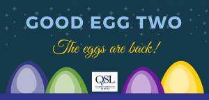 #QLSGoodEgg Awards Return!
