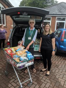 Trolley Dash Boosts Supplies at Local Foodbanks