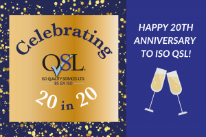 Celebrating our 20th Anniversary in 2020!